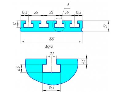 Алюминиевый профиль Т слот